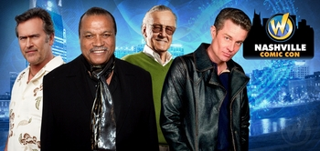 Stan Lee, Norman Reedus, WWE� Superstar Daniel Bryan�, Henry Winkler Among Top Celebrity Guests At Inaugural Wizard World Nashville Comic Con, October 18-20