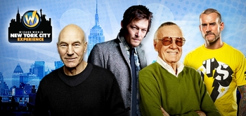 Stan Lee, Patrick Stewart, Norman Reedus, WWE� Superstar CM Punk� Headline Wizard World Comic Con NYC Experience, June 28-29-30