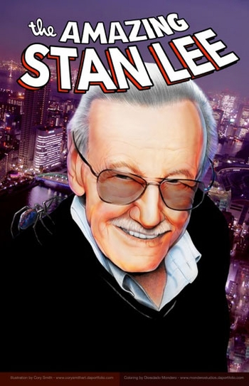 <i>Stan Lee</i> Portland Comic Con Wizard World VIP Exclusive Lithograph by Cory Smith