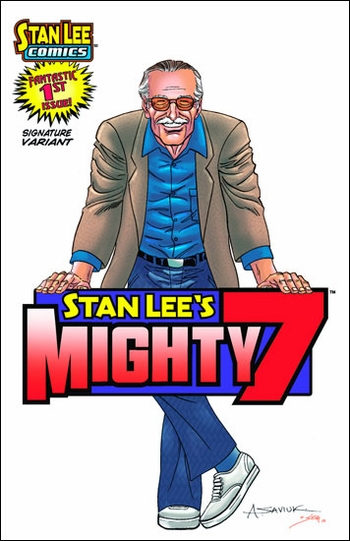 <i>Stan Lee</i> St. Louis Comic Con Wizard World VIP Exclusive Lithograph by Alex Saviuk