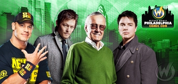 Stan Lee, Summer Glau, WWE� Superstars John Cena� And Daniel Bryan� Among Celebrity Guests @ Wizard World Philadelphia Comic Con, May 30 � June 2