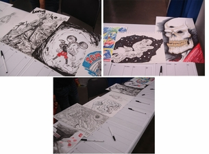 STAPLE! Presents Austin Comic Con Drink And Draw Charity Auction!