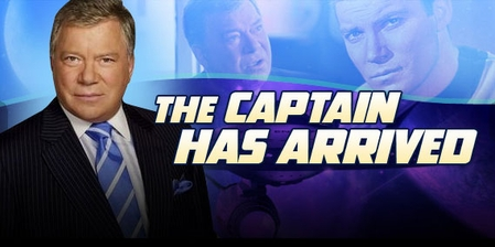 Star Trek's William Shatner Beams Down To Chicago Comic Con!