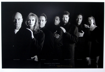 <i>Star Trek: The Next Generation</i> Austin Comic Con Exclusive 25th Anniversary Lithograph
