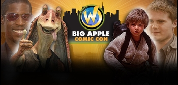 Star Wars Actors Ahmed Best & Jake Lloyd Added To Big Apple Comic Con Guest List!