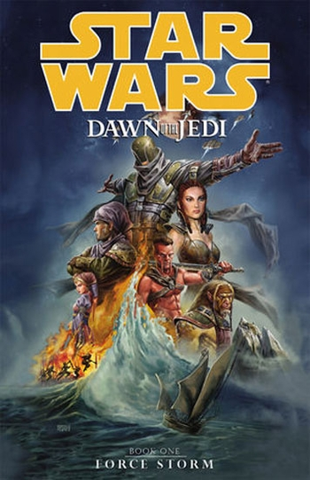 <i>Star Wars Dawn of the Jedi: Force Storm</i> Trade Paperback by Dan Parsons