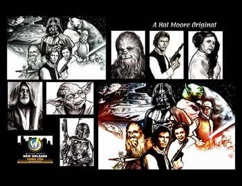 <i>Star Wars</i> New Orleans Comic Con Exclusive Print by Hal Moore