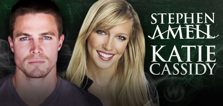 Stephen Amell & Katie Cassidy, <i>Oliver Queen/Arrow</i> & <i>Laurel Lance</i>, �Arrow,� Coming to Louisville!