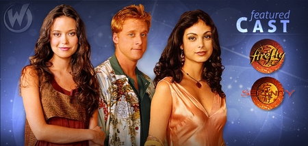 Summer Glau, Alan Tudyk & Morena Baccarin, <i>Firefly/Serenity</i>, Coming to Chicago Comic Con!