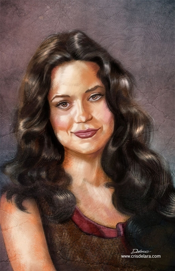 <i>Summer Glau</i> Chicago Comic Con Wizard World VIP Exclusive Lithograph by Cris Delara