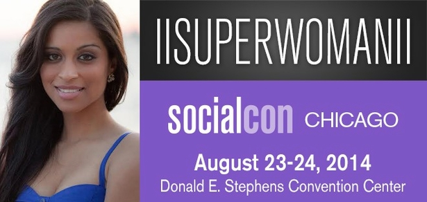 ||Superwoman||, <i>Social Media Phenom</i>, Coming to socialcon CHICAGO