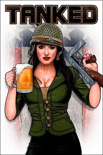 <i>TANKED</i> War Anthology by Ink and Drink Comics <br>St. Louis Comic Con Exclusive