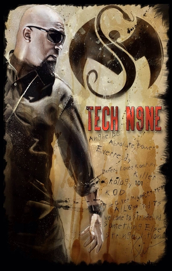 <i>TECH N9NE</i> St. Louis Exclusive Print by Rob Prior