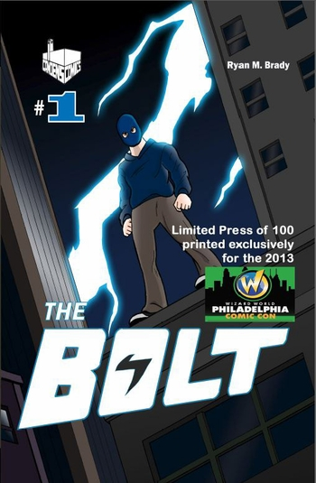 The Bolt #1 Philadelphia Comic Con Exclusive by Ryan M. Brady