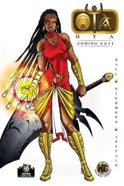 The Book Of Oya Poster - Chicago Comic Con Exclusive!
