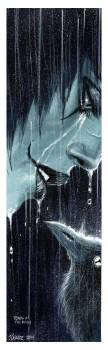 <i>The Crow: Tears in the Rain</i> Philadelphia Comic Con Exclusive Lithograph by James O'Barr