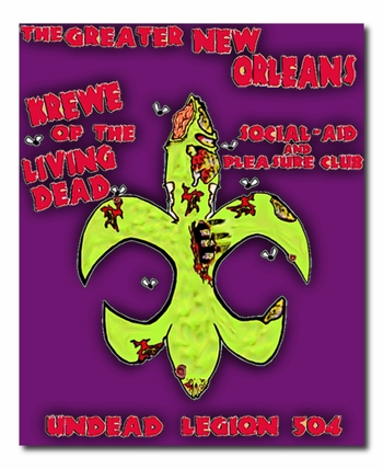 The Greater New Orleans Krewe of the Living Dead