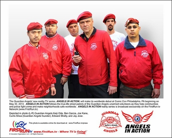 The Guardian Angels to Debut �Angels In Action� Reality TV Series at Wizard World Philadelphia Comic Con 2013