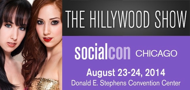 The Hillywood Show, <i>Social Media Phenoms</i>, Coming to socialcon CHICAGO