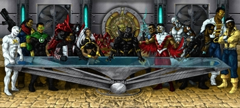 <i>The Last Supper</i> Philadelphia Comic Con Exclusive Print by Matt Seel