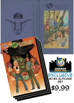 The Oz/Wonderland Chronicles - Chicago Comic Con Exclusive Slipcase #0-#3 Set