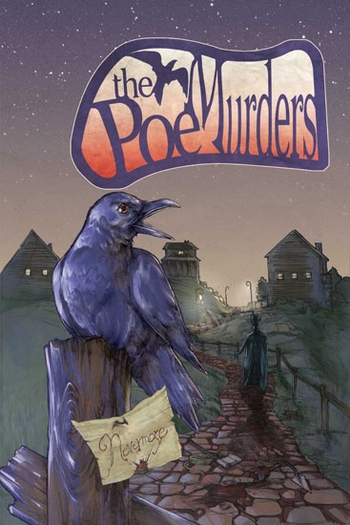 <i>The Poe Murders #1</i> Variant Cover Chicago Comic Con Exclusive by James Mascia