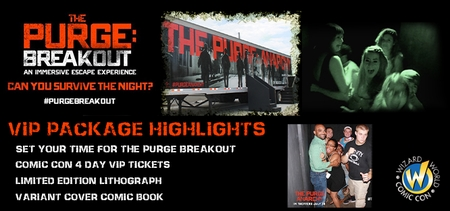 Can You Survive The Night? THE PURGE: BREAKOUT Experience Hits Philadelphia Comic Con