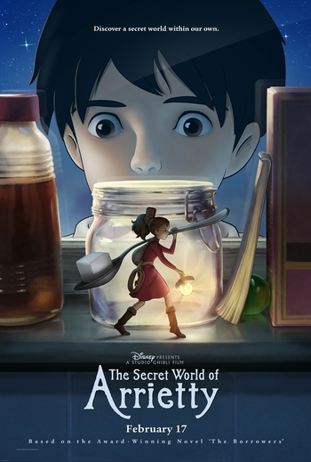 The Secret�s Out! Disney and Studio Ghibli�s �The Secret World of Arrietty� Preview at New Orleans Comic Con