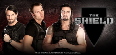 The Shield� (Dean Ambrose�, Roman Reigns� & Seth Rollins�) Saturday VIP Experience @ Chicago Comic Con 2013
