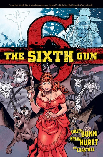 <i>The Sixth Gun</i> St. Louis Comic Con Wizard World VIP Exclusive Lithograph by Cullen Bunn & Brian Hurtt