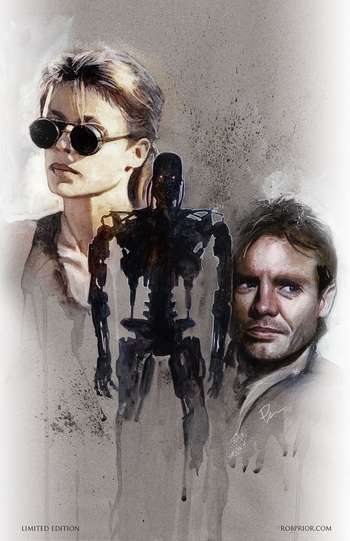 <i>The Terminator</i> New Orleans Comic Con VIP Exclusive Lithograph by Rob Prior