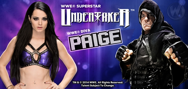 WWE� Phenom The Undertaker�, WWE� Diva Paige� To Attend Wizard World Austin Comic Con