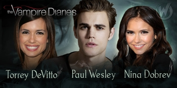 �The Vampire Diaries�� Nina Dobrev, Paul Wesley & Torrey DeVitto Coming to Chicago Comic Con!