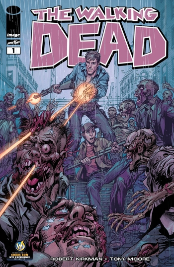 <i>The Walking Dead #1</i> Comic Con NYC Exclusive Variant Cover by Neal Adams