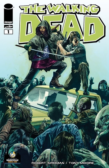 <i>The Walking Dead #1</i> Nashville Comic Con Exclusive Variant Cover by Mico Suayan