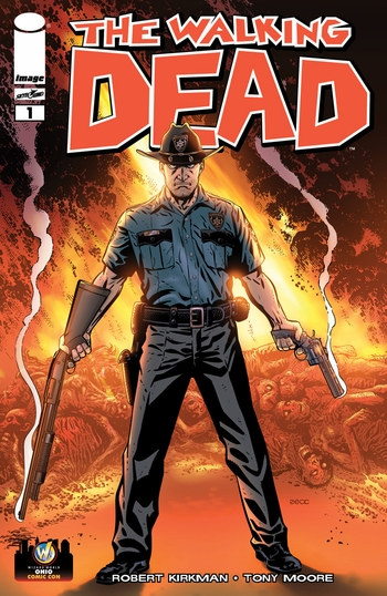 <i>The Walking Dead #1</i> Ohio Comic Con Exclusive Variant Cover by Mike Zeck