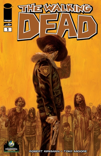 <i>The Walking Dead #1</i> Philadelphia Comic Con Exclusive Variant Cover by Julian Totino Tedesco