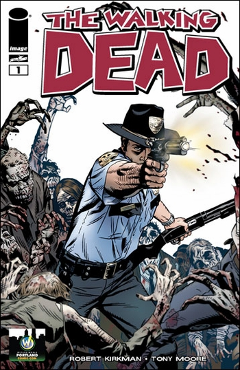 <i>The Walking Dead #1</i> Portland Comic Con Exclusive Variant Cover by Michael Golden