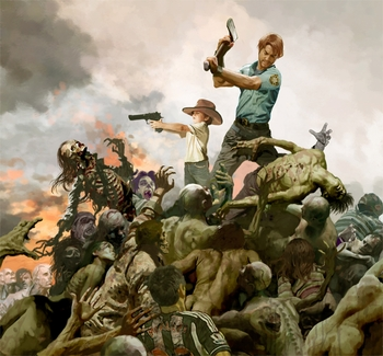 "<i>""The Walking  Dead""</i> Minneapolis Comic Con Exclusive Lithograph by Arthur Suydam"