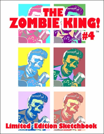 <i>The Zombie King, Arthur Suydam</i> New Orleans Comic Con Exclusive Limited Edition Sketchbook Collection #4