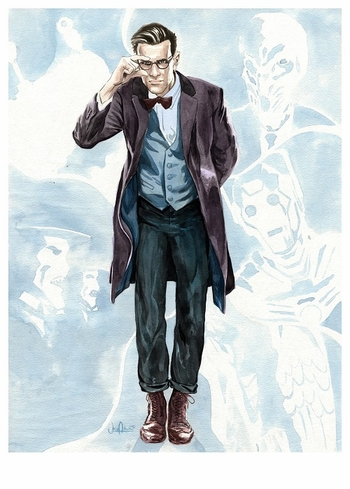 <i>Time of the 11th Doctor</i> New Orleans Comic Con Exclusive by Josh Adams