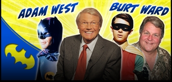 To the Con, Robin!... Adam West & Burt Ward To Attend Mid-Ohio Comic Con!