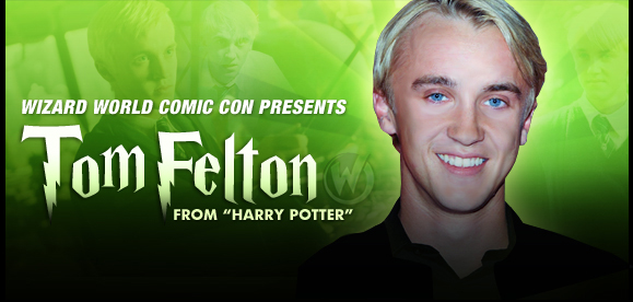 Tom Felton, <i>Draco Malfoy</i>, �Harry Potter,� Coming to Las Vegas 2015