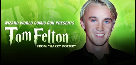 Tom Felton, <i>Draco Malfoy</i>, �Harry Potter,� Coming to St. Louis Comic Con