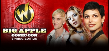 Tom Felton, Morena Baccarin, Kristanna Loken Among Headliners @ Big Apple Comic Con �Spring Edition!�