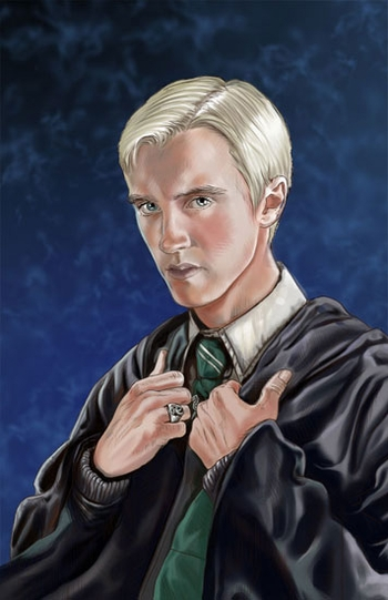 <i>Tom Felton</i> St. Louis Comic Con VIP Exclusive Lithograph by Cris Delara