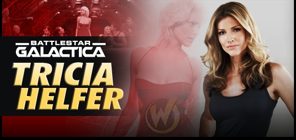 Tricia Helfer, <i>Number Six</i>, �Battlestar Galactica,� Coming to Tulsa!