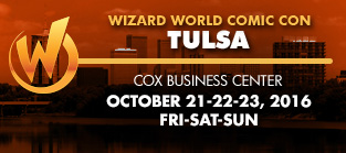 Wizard World Comic Con Tulsa 2016 VIP Package + 3-Day Weekend Admission