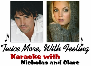 Twice More, With Feeling: Karaoke With Nicholas Brendon and Clare Kramer!