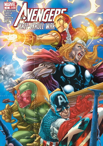 Upper Deck to Give Away Free MARVEL COMICS The Avengers: Kree-Skrull War Promo Packs @ Big Apple Comic Con �Spring Edition!�